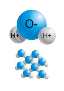 molecola dell'acqua